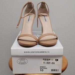 Steve Madden Stecy Natural heels